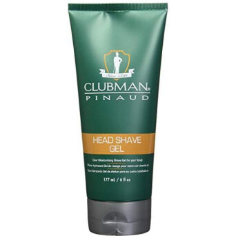 Clubman Head Shave Gel żel do golenia głowy 177ml
